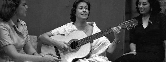 Grandes de la música cantan «A Chabuca»