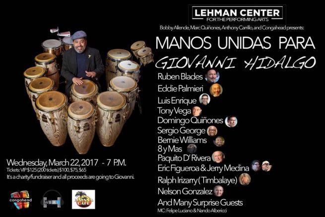 Afiche Givanni Hidalgo
