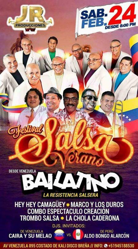 Afiche Bailatino Lima