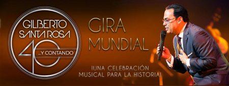 Afiche Gilberto Santa Rosa Lima