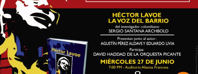 HÉCTOR LAVOE: Presentación de Libro