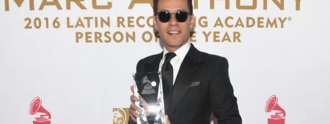 Marc Anthony reconocido por Latin Grammy