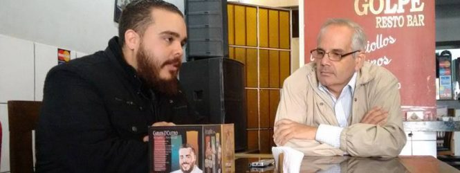 Carlos D'Castro estuvo en Lima-Perú
