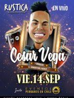 César Vega en Chile